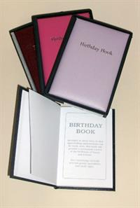 Cathian Leather Birthday Books