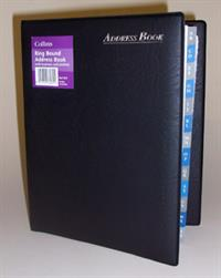 Collins Ring Bound Address Book (A5)