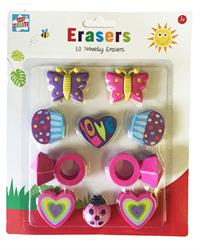 Novelty erasers