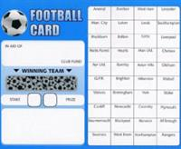 Football Scratch Card