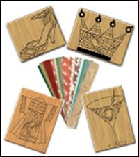 How to use Iris Folding Rubber Stamps