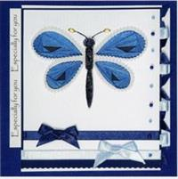 Iris Folding Stamp - Butterfly