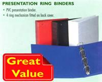Presentation Ring Binders - 25mm