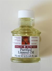 Purified Linseed Oil 75ml