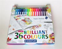 Triplus Fineliner 36 Brilliant colours